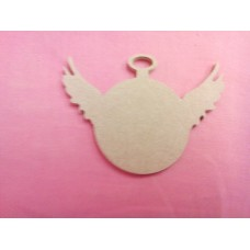 4mm Fob Watch with wings 100mm